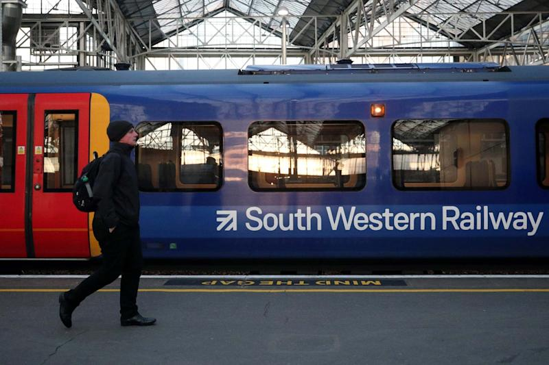 South Western Railway workers will go back to one day on Thursday for the general election: REUTERS