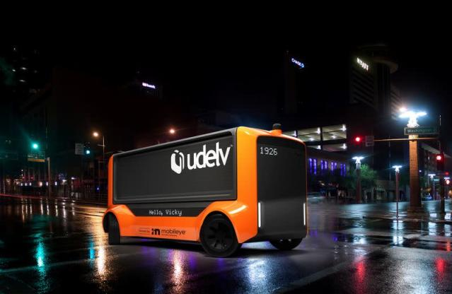 Intel's Mobileye teams with startup Udelv on automated delivery