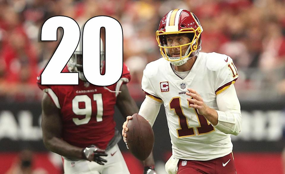 <p>Keep an open mind to the Redskins being a team that surprises. But they need more than a win over the Cardinals. (Alex Smith) </p>