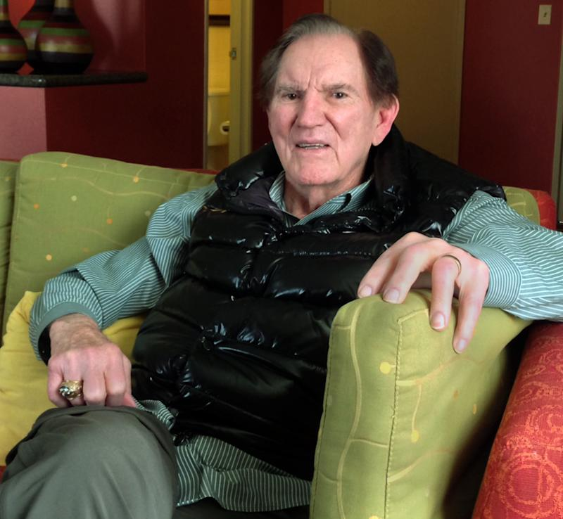 """In this April 16, 2013 photo, Hall of Famer Forrest Gregg is pictured during an interview Greenwood Village, Colo.  Gregg is raising awareness for Parkinson's disease 18 months after his diagnosis. While Gregg and his neurologist believe his debilitating neurological disorder stems from the many concussions he sustained during his playing career, Gregg says he's rebuffed overtures to join thousands of former players suing the NFL. He said he has his pensions from his playing and coaching days and """"I don't need anything from anybody but what I earned."""" Yet, he doesn't begrudge those who are part of the lawsuits. (AP Photo/Arnie Stapleton)"""