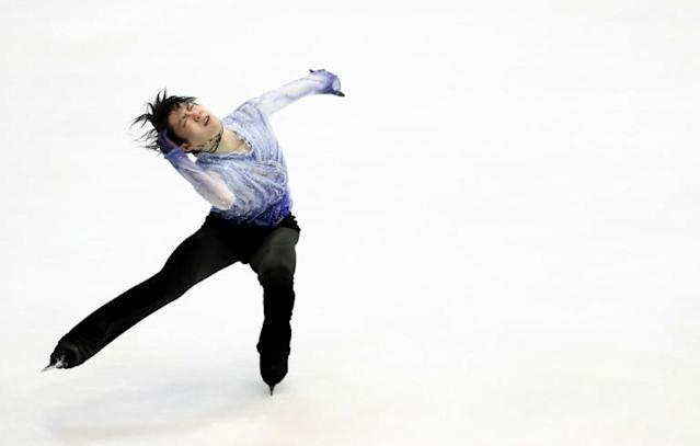 The Japanese figure skating star smashed an overall score of 305.05 points at the men's competition (AFP Photo/JUNKO KIMURA-MATSUMOTO)