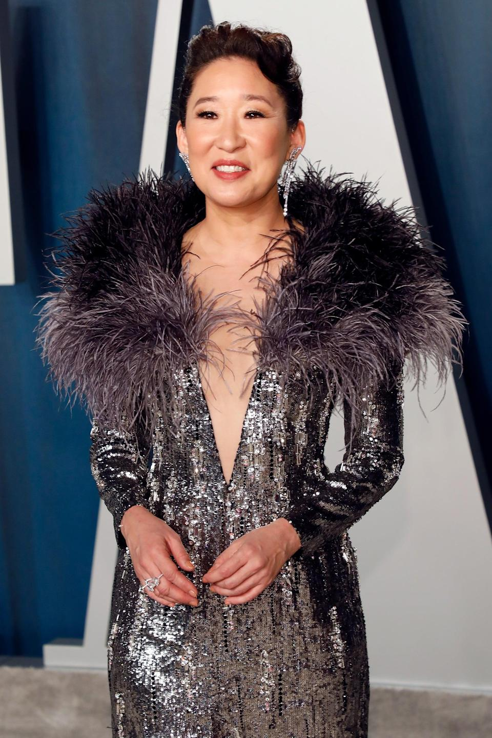 """<p>I don't think I even need to find a reason why <a class=""""link rapid-noclick-resp"""" href=""""https://www.popsugar.com/Sandra-Oh"""" rel=""""nofollow noopener"""" target=""""_blank"""" data-ylk=""""slk:Sandra Oh"""">Sandra Oh</a>'s Christina could come back. It's a day that ends in """"y,"""" how's that for a reason!? It seems too good to be true that Oh is listed as being part of the show in 2020, but if this season is Meredith and Pompeo's swan song, she absolutely <em>has</em> to make an appearance. If there's anyone who would appear at Meredith's bedside while she's deathly ill, it's her person!</p>"""