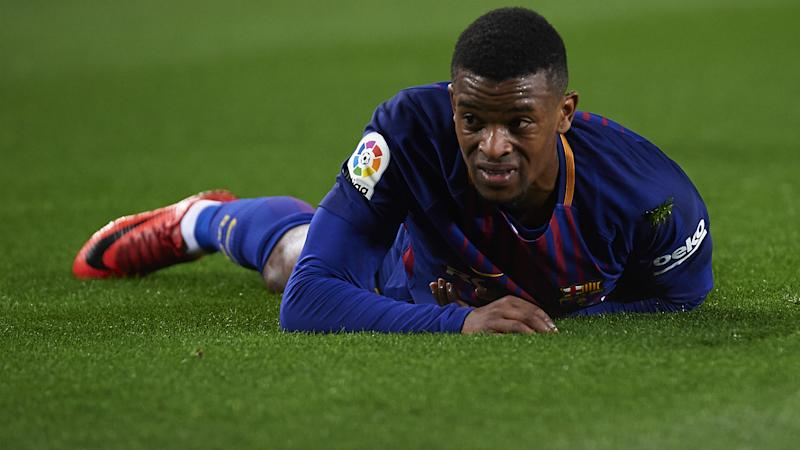 Barcelona's Semedo facing five weeks out with hamstring injury