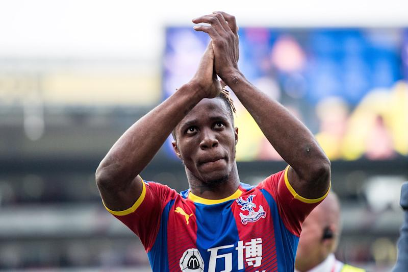 Wilfried Zaha has played over 250 games for Crystal Palace. (Credit: Getty Images)