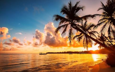 Sunset in the Caribbean - Credit: iStock