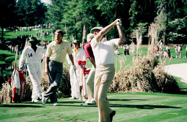 <p>A former U.S. Junior Amateur champ, Renner turned in a first-round 67 to take the 1983 Masters lead into Friday. However, the three-time PGA Tour winner followed up with a 75 and 78, failing to finish inside the top 15.</p>