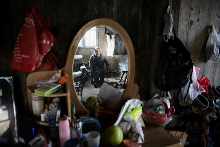 Although Liu received a grant as a poverty-stricken household he says business has been weak