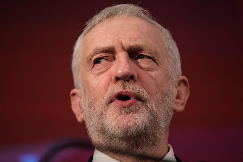 Jeremy Corbyn will position himself as a political outsider for the snap election: Getty Images