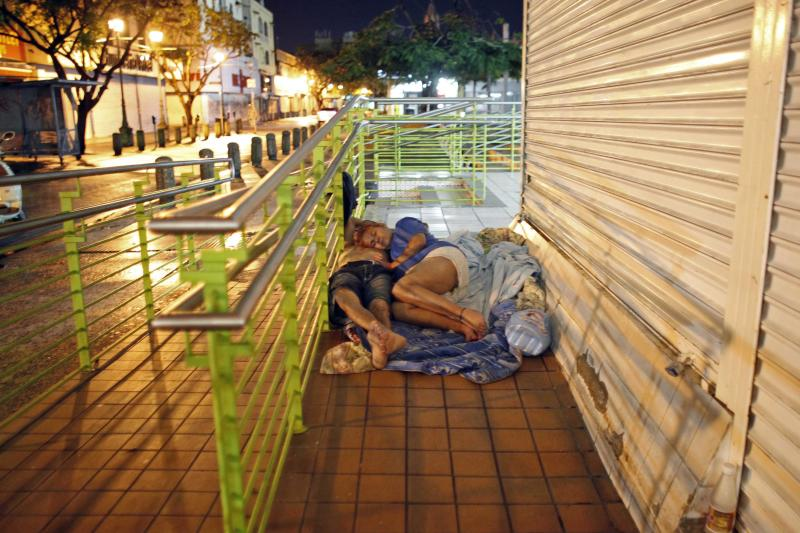 Puerto Rico sees surge in homeless population
