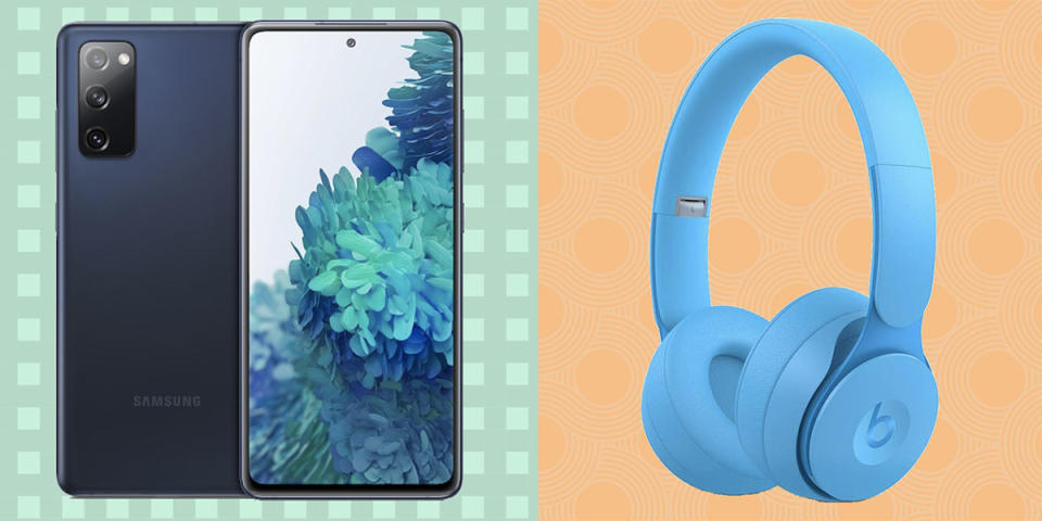 That tablet you wanted is on sale now. Also? Those Beats wireless headphones. We've got the best prices. (Photo: Yahoo Life)