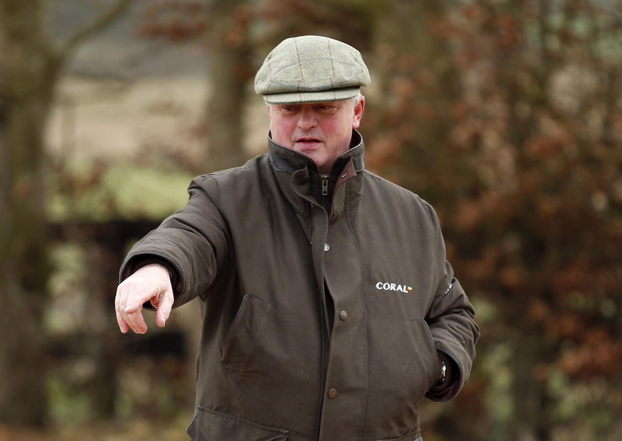 Britain Horse Racing - Colin Tizzard Stable Visit - Cheltenham Festival Preview - Spurles Farm, Milborne Port, Dorset - 23/2/17 Trainer Colin Tizzard during the stable visit Action Images via Reuters / Matthew Childs Livepic EDITORIAL USE ONLY.