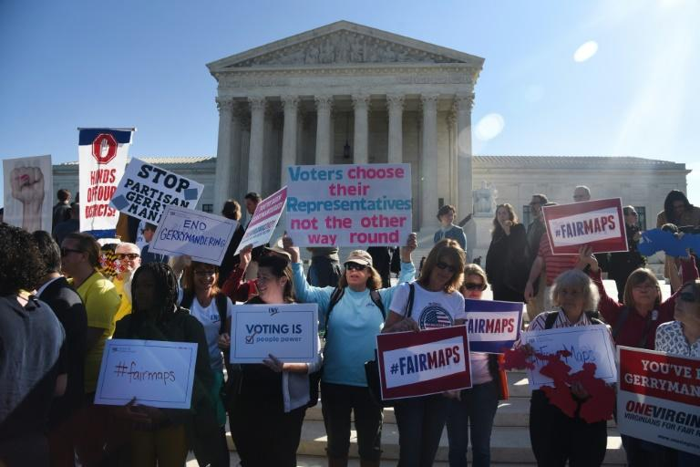 Despite the concern over gerrymandering, the Supreme Court has never ruled the practice is unconstitutional