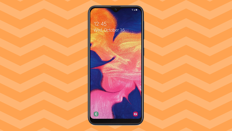 The Samsung Galaxy A10e smartphone is a beautiful thing. (Photo: Amazon)