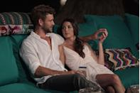 """<p>When Jen and Nick began dating on season 3 of <em>BiP,</em> fans were relieved that the notorious runner-up (Nick placed second on *two* seasons of <em>The Bachelorette</em>) had finally found love. But in the end, it was Nick who decided to cut things off with Jen <a href=""""https://people.com/tv/bachelor-in-paradise-nick-viall-says-goodbye-to-jen-saviano-after-finale/"""" rel=""""nofollow noopener"""" target=""""_blank"""" data-ylk=""""slk:before the season finale"""" class=""""link rapid-noclick-resp"""">before the season finale</a>. </p>"""