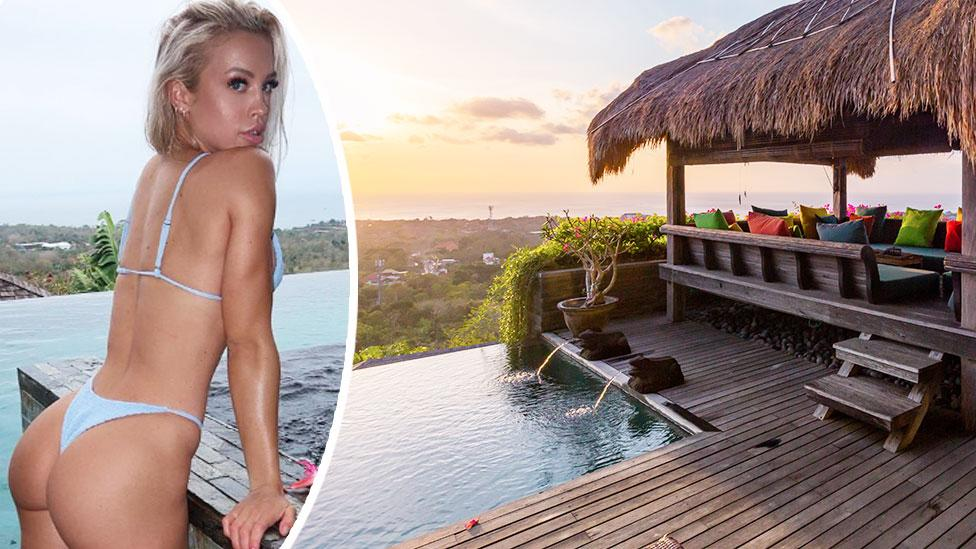 <p>Instagram star Tammy Hembrow is currently on holiday in Bali after making headlines last week after she was stretchered out of Kylie Jenner's 21st birthday party. Photo: Instagram/tammyhembrown, Supplied </p>