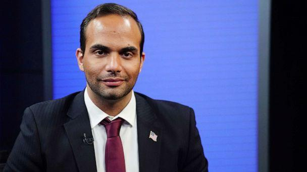 PHOTO: In this March 26, 2019, file photo, George Papadopoulos, a former member of the foreign policy panel to Donald Trump's 2016 presidential campaign, poses for a photo before a TV interview in New York. (Carlo Allegri/Reuters, FILE)
