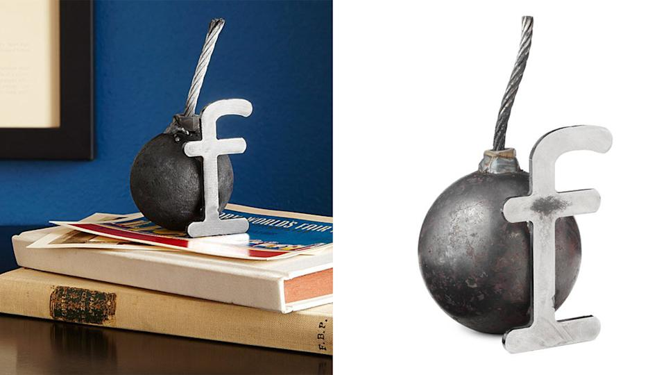 Best gifts for grandpa: F-bomb paperweight