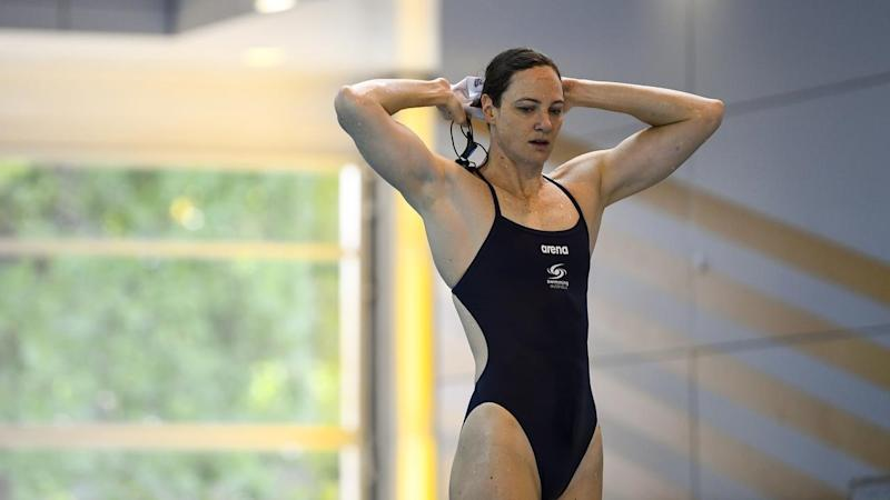 CATE CAMPBELL SWIMMING PRESSER