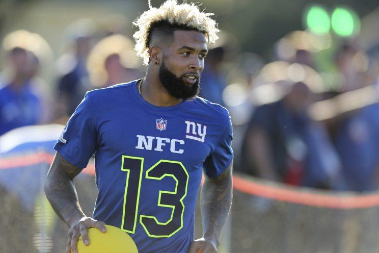 Odell Beckham reportedly wants a new long-term contract. (AP)