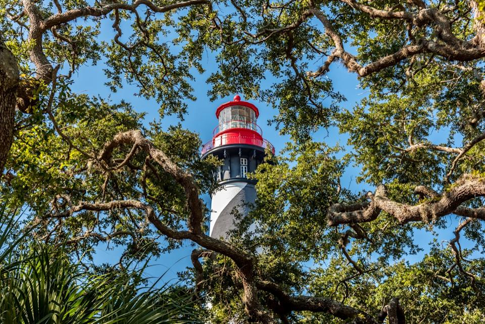 the lighthouse in st augustine florida