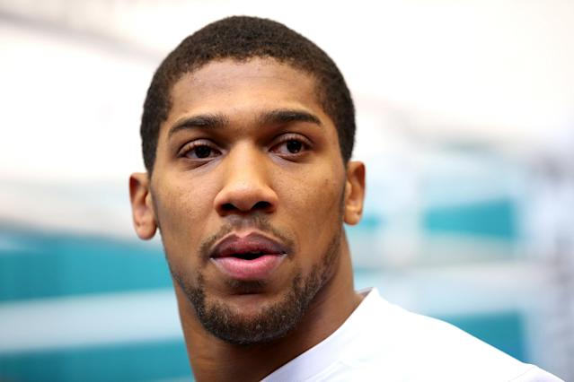 Anthony Joshua: In boxing, losing is the one thing I'm nervous about