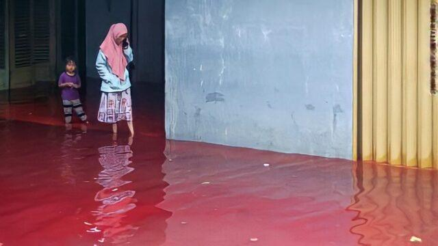 It's not uncommon for Indonesians to experience floods