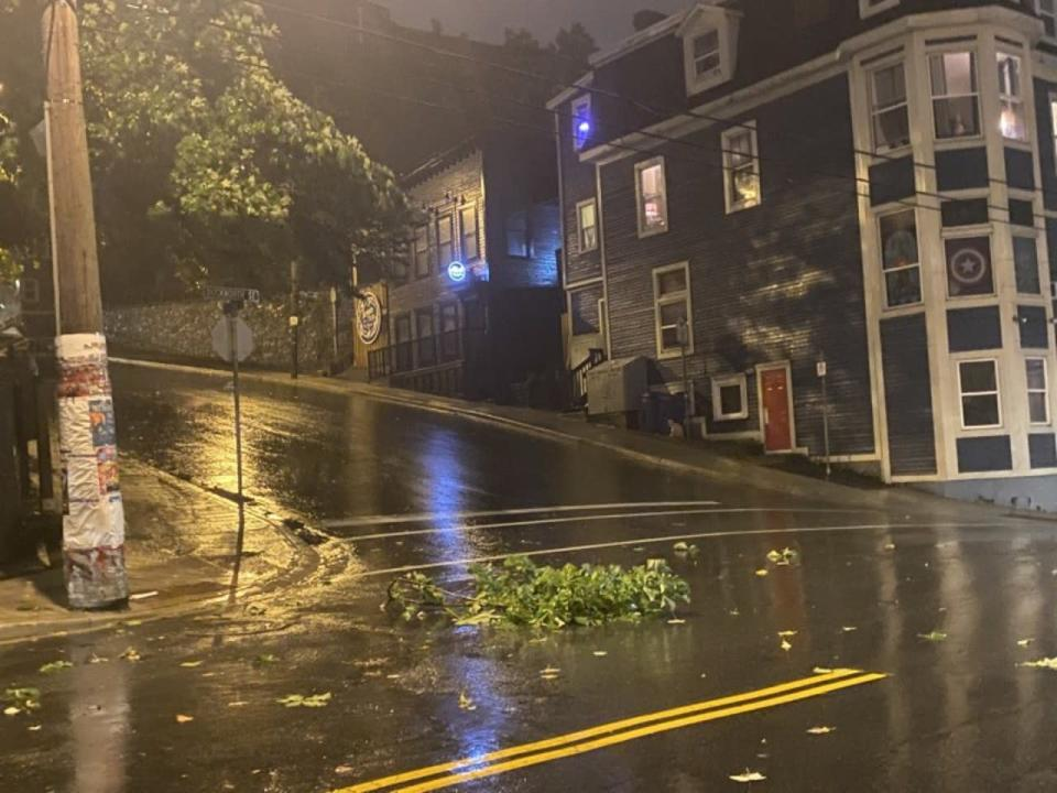 Damage, outages reported after Hurricane Larry lashes Newfoundland