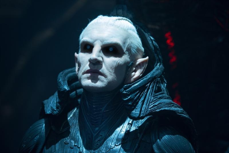 Eccleston as Malekith of the Dark Elves (Credit: Marvel)