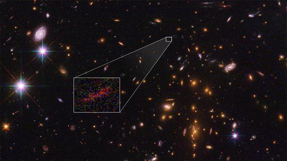 NASA observation shows universe's earliest galaxies brighter than expected