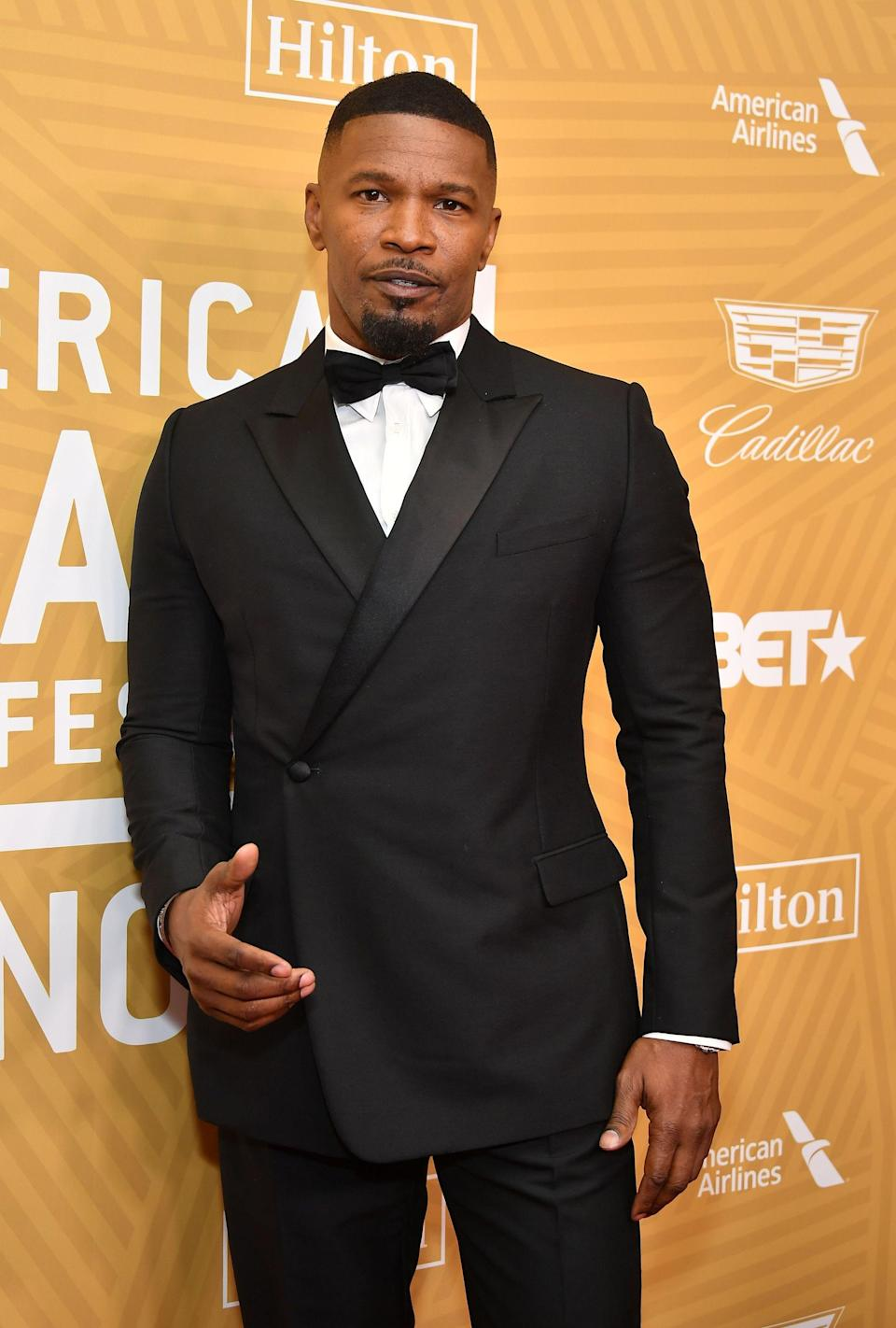 """As catchy as """"Jamie Foxx"""" is, you may not be surprised that it's not the birth name of one Eric Marlon Bishop. Foxx changed his name as a strategic move: After he noticed women were often called on first to perform at comedy clubs, he began writing down gender-neutral names like Tracey, Stacey, and Jamie—eventually Jamie stuck."""