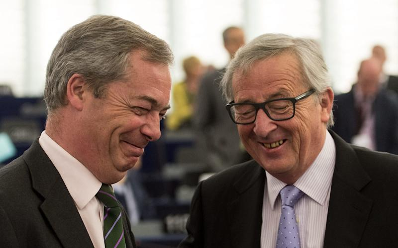 The success of Nigel Farage's Ukip is one of the main reasons why the UK is having a referendum - Credit: EPA