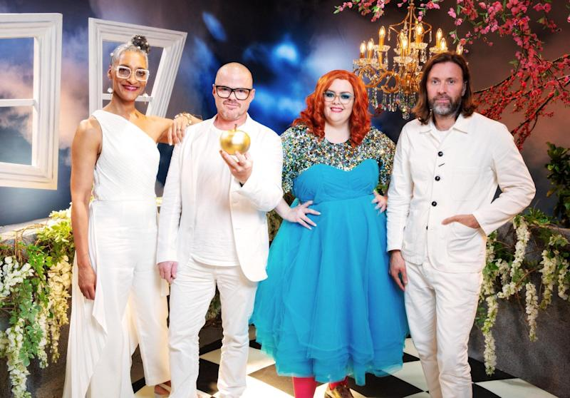 The judging line up features Carla Hall, Heston Blumenthal and Niklas Ekstedt