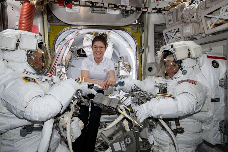 NASA Cancels First All-Female Spacewalk Because They Don't Have Enough Spacesuits to Fit Women
