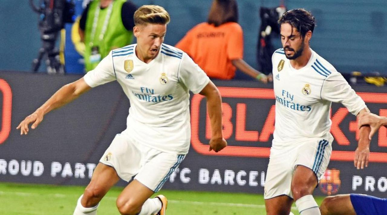 """<p>Arsenal are understood to have joined both Sevilla and Atletico Madrid in the race to sign Real Madrid starlet Marcos Llorente this summer.</p><p>Real Madrid are considering allowing the highly-rated midfielder to leave the Bernabeu this summer due to the high levels of competition for places - with the rise of the impressive Mateo Kovacic, and signing of Dani Ceballos further limiting Llorente's opportunity with the first team in the 2017/18 season.</p><p>The 22-year-old spent last season on loan with fellow La Liga outfit, Deportivo Alaves - making 32 appearances. Despite showing plenty of promise with the achieving Basques, who made the Copa del Rey final, Llorente has now shunted down the pecking order at the Bernabeu and could be set for the exit. </p><p></p><p>According to Spanish outlet AS, via <a rel=""""nofollow"""" href=""""http://www.mirror.co.uk/sport/football/transfer-news/arsenal-join-race-sign-real-11013942"""">The Mirror</a>, Real Madrid are now looking to secure another loan deal for the 22-year-old, or a deal which would involve a suitable buy-back clause.</p><p></p><p></p><p>Arsene Wenger is said to rate Llorente highly, and is prepared to add him to the ranks at Arsenal following the Spanish giants willingness to part with the Spanish midfielder. </p><p></p><p></p><p>Despite currently possessing a host of midfielders at the Emirates, with the likes of Granit Xhaka, Francis Coquelin, Aaron Ramsey and Mohamed Elneny all competing for a starting birth, Wenger could be eager to add a young talent to his already ample midfield brigade. </p><p></p><p></p><p>However, the Gunners are likely to face tough competition in the battle for Llorente's signature as both Sevilla and Atletico Madrid are reported to be hot on the trail of the 22-year-old.</p><p></p><p></p><p>Wenger will be content with the signings of Sead Kolasinac and Alexandre Lacazette, but Llorente could offer a touch of class to his side as the club continue to offload a host of players before the end"""