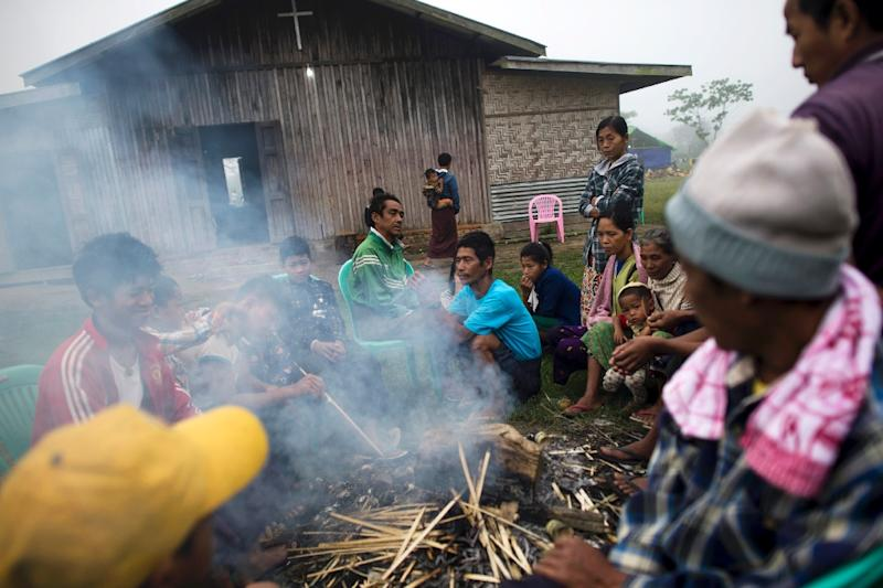 Upwards of 90,000 people reside in IDP camps in Kachin and Shan states since a ceasefire between the powerful Kachin Independence Army and the military broke down in 2011 (AFP Photo/Ye Aung Thu)