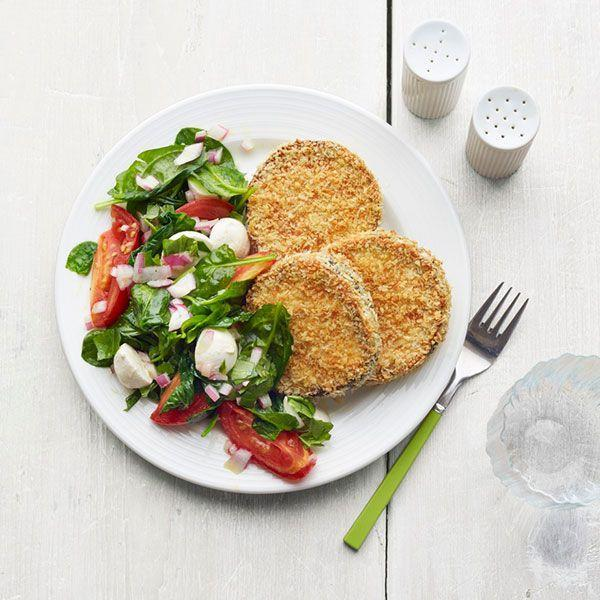 "<p>These crispy eggplant cakes have serious leftover potential. Stuff them into a sandwich or pita with some hummus, and relive the dream all over again.</p><p><a href=""https://www.goodhousekeeping.com/food-recipes/a15791/crispy-eggplant-roasted-tomato-salad-recipe-wdy0914/"" rel=""nofollow noopener"" target=""_blank"" data-ylk=""slk:Get the recipe for Crispy Eggplant and Roasted Tomato Salad »"" class=""link rapid-noclick-resp""><em>Get the recipe for Crispy Eggplant and Roasted Tomato Salad »</em></a><br></p>"