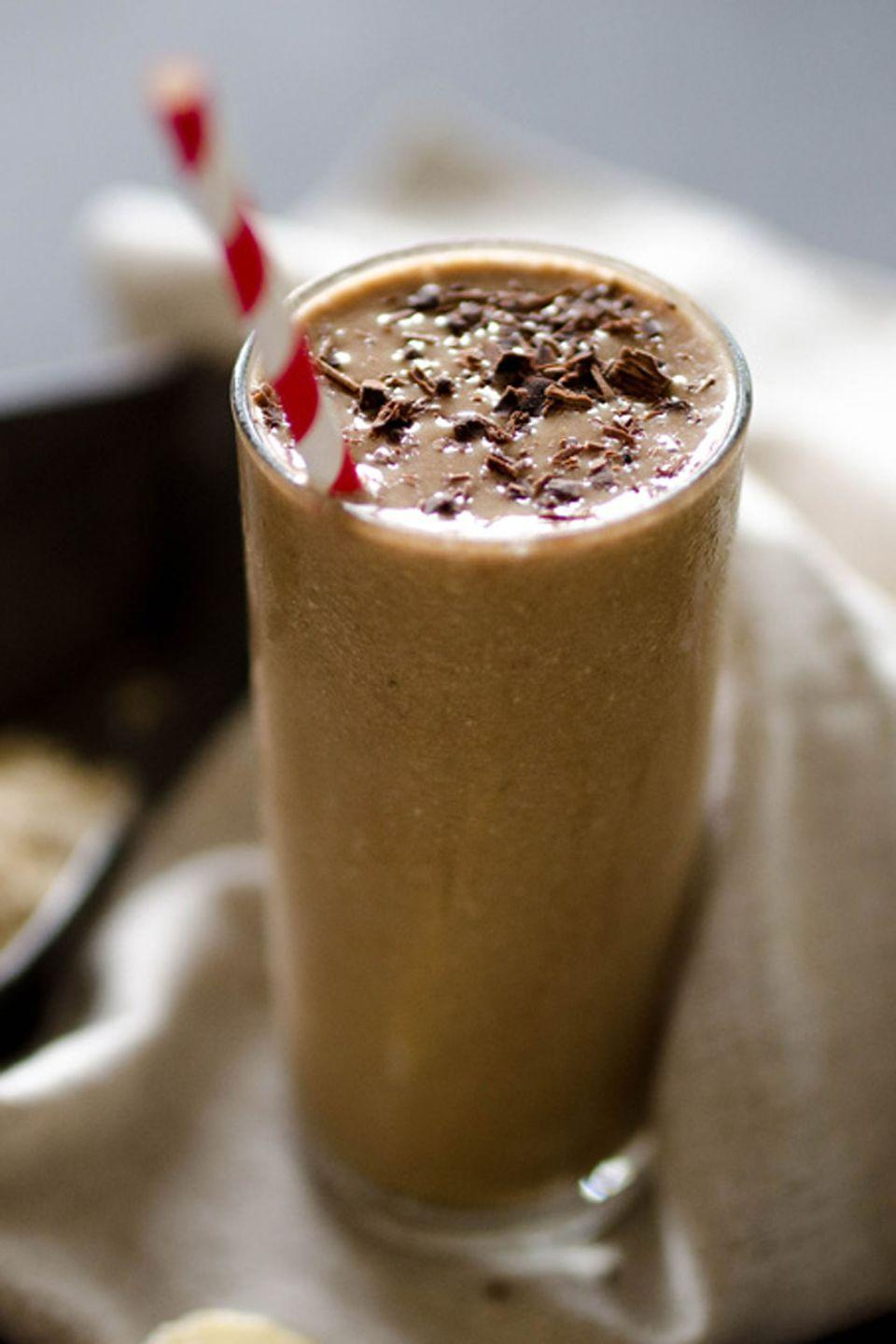 """<p>Coffee lovers, rejoice! Smoothies should not (and will not) replace your cup of joe. </p><p><em><a href=""""https://www.liveeatlearn.com/wake-me-up-coffee-smoothie/"""" rel=""""nofollow noopener"""" target=""""_blank"""" data-ylk=""""slk:Get the recipe from Live Eat Learn »"""" class=""""link rapid-noclick-resp"""">Get the recipe from Live Eat Learn »</a></em></p>"""