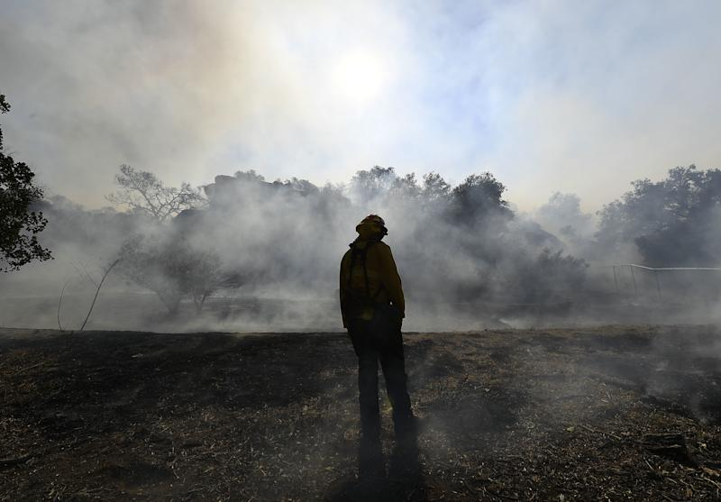 The Dangerous Health Risks That Could Follow the California Wildfires