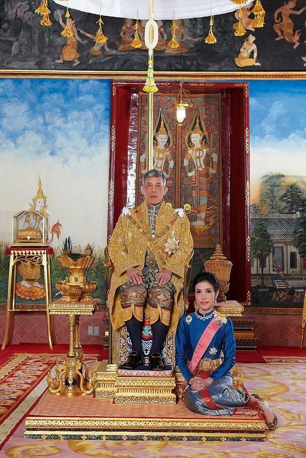 The Thai king had only anointed her with the title three months ago