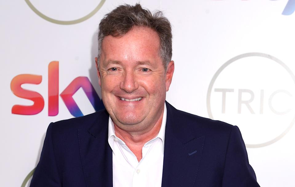 Piers Morgan said those criticising Captain Tom Moore were 'vermin'. (Photo by Dave J Hogan/Getty Images)