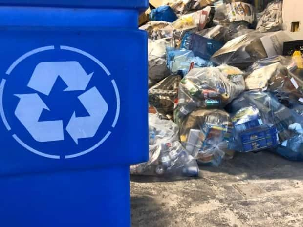 The Thompson-Nicola Regional District has announced a new bylaw that will ban cardboard from all landfills beginning in January. (CBC - image credit)