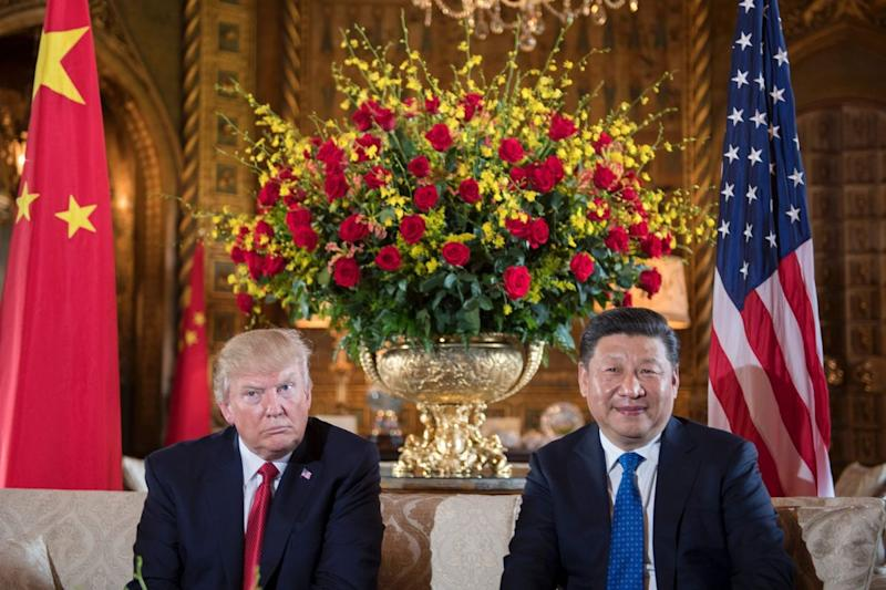 Donald Trump and Xi Jingping