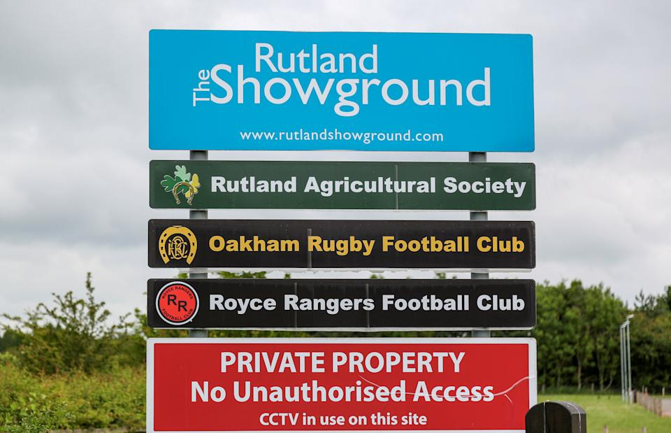 The event at Rutland Showground was legally authorised. (SWNS)