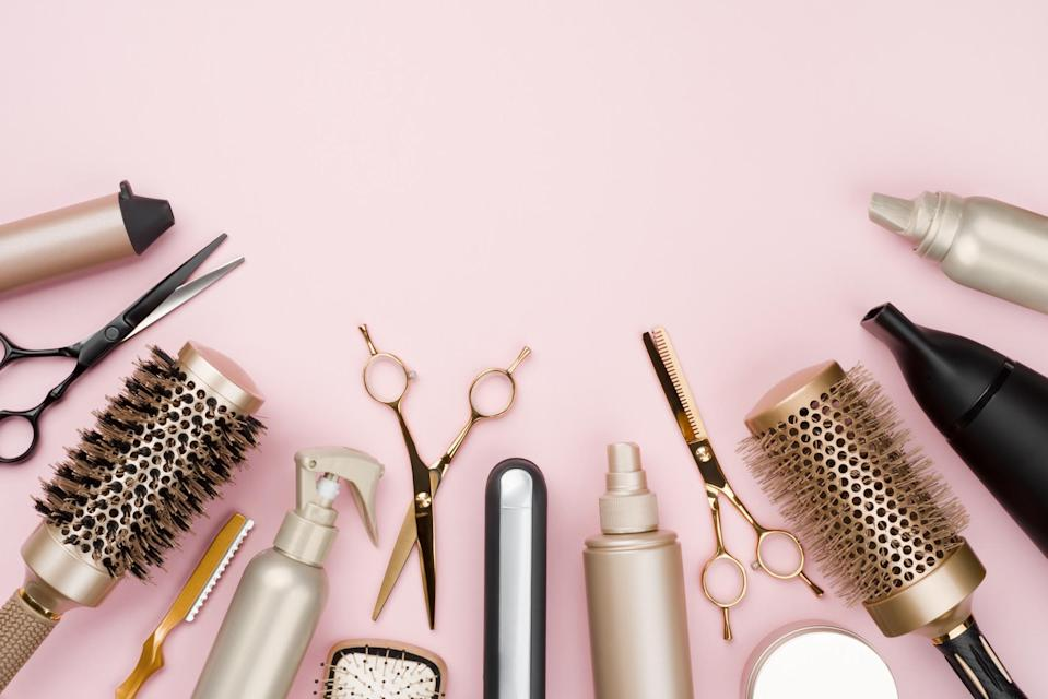 <p>As we enter our third national lockdown, we all need a helping hand in the hair department</p> (Getty)