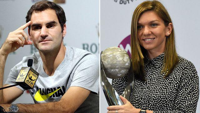 Federer has gone in to bat for Halep. Image: Getty