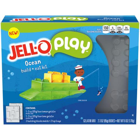Yes, You Can Play with Your Food! After 121 Years, JELL-O is Now a Toy
