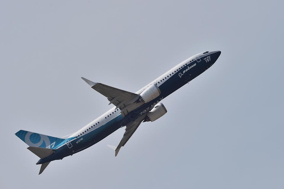 A Boeing 737 MAX 9