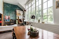 """<p>Social Realist painter Reginald Marsh may have depicted bustling scenes of 1920s New York City, but he came here to this verdant Woodstock studio to escape from it all—and you can too. This light-filled home, renovated by an architect/artist couple, features three bedrooms and three baths and the same tranquil atmosphere that inspired Marsh decades ago. </p><p><a class=""""link rapid-noclick-resp"""" href=""""https://www.airbnb.com/rooms/plus/191013"""" rel=""""nofollow noopener"""" target=""""_blank"""" data-ylk=""""slk:Book Now"""">Book Now</a></p>"""