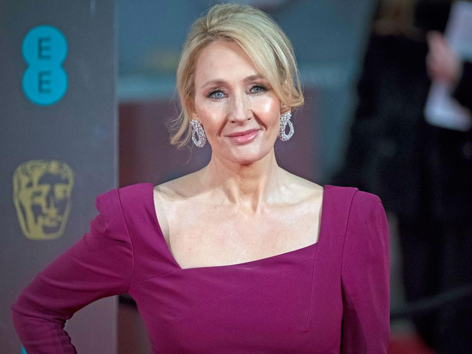 J.K. Rowling said she had COVID-19 symptoms for two weeks.