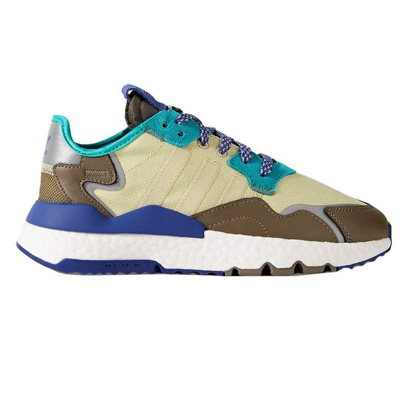 """<p><strong>Adidas Originals</strong></p><p>net-a-porter.com</p><p><strong>$130.00</strong></p><p><a href=""""https://go.redirectingat.com?id=74968X1596630&url=https%3A%2F%2Fwww.net-a-porter.com%2Fus%2Fen%2Fproduct%2F1189318&sref=https%3A%2F%2Fwww.harpersbazaar.com%2Ffashion%2Ftrends%2Fg31749966%2Fsummer-2020-shoe-trends%2F"""" rel=""""nofollow noopener"""" target=""""_blank"""" data-ylk=""""slk:Shop Now"""" class=""""link rapid-noclick-resp"""">Shop Now</a></p><p>Ease into it with a grouping of cool blues and greens.</p>"""